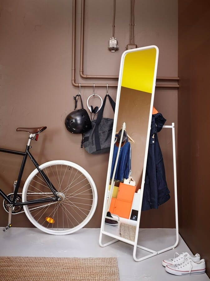 Lustro stojące Ikea Knapper