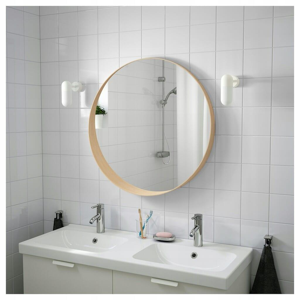 Ikea lustro okrągłe Stockholm