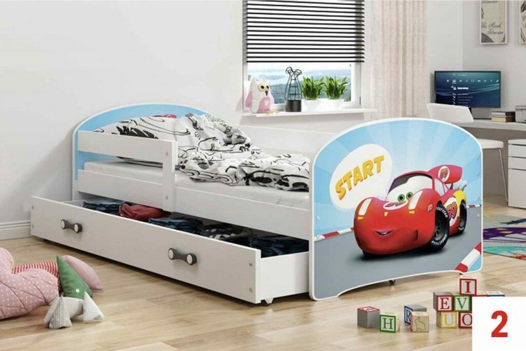 Łóżko dziecięce BMS GROUP Luki