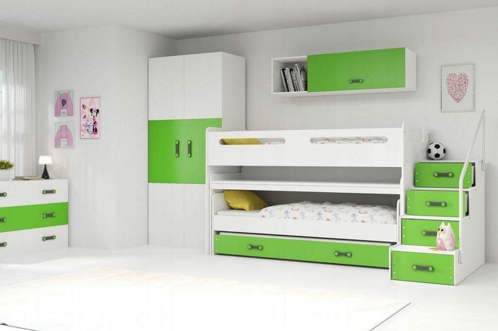 Łóżko półpiętrowe BMS GROUP MAX 1
