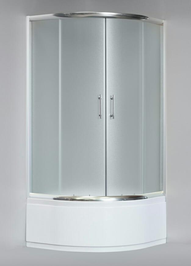 Kabina prysznicowa INEA IN-003 90 x 90 cm z głębokim brodzikiem