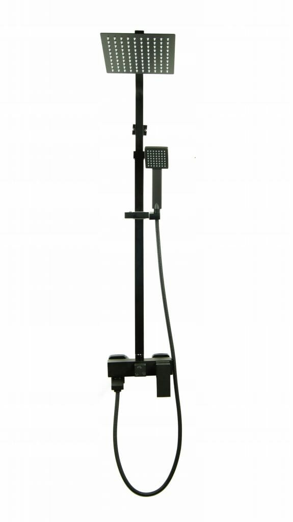 Bateria prysznicowa Optima + deszczownica ULTRA SLIM 2mm
