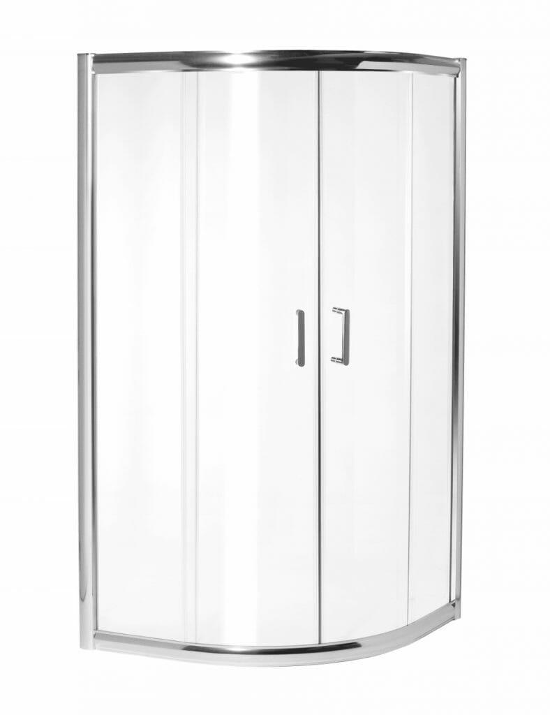 Kabina prysznicowa KAMA 80 z brodzikiem 80 x 80 cm