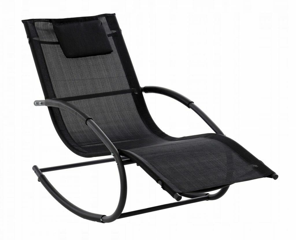 Fotel bujany do ogrodu z zagłówkiem HOME INVEST OTE-007-BETA-CZ