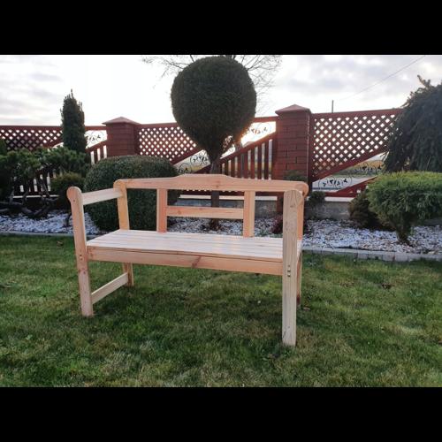 Ławka ogrodowa drewniana J. Wojtczak - model Ania