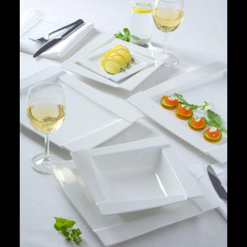 Serwis komplet obiadowy AMBITION KUBIKO 42 elementy - na 12 osób