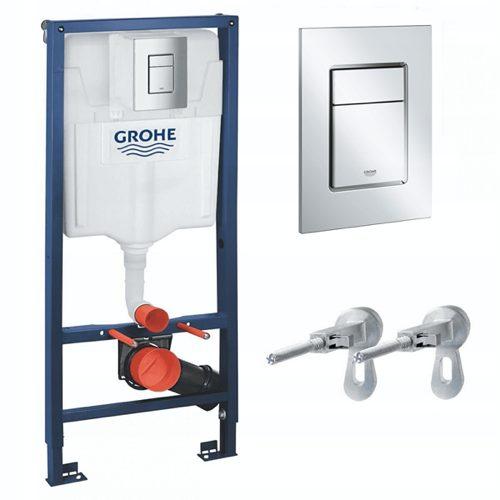 GROHE RAPID 39501000 WC elementas - 6in1 paslėptas rinkinys