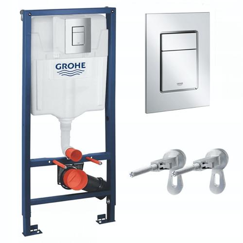 Stelaż WC GROHE RAPID 39501000 - zestaw podtynkowy 6w1