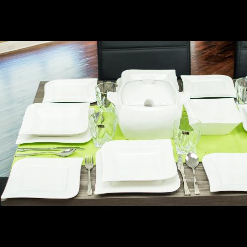 AMBITION FALA - komplet obiadowy 42 elementowy