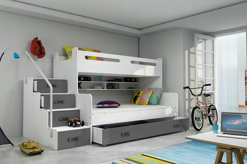 Piętrowe łóżko BMS GROUP MAX 3