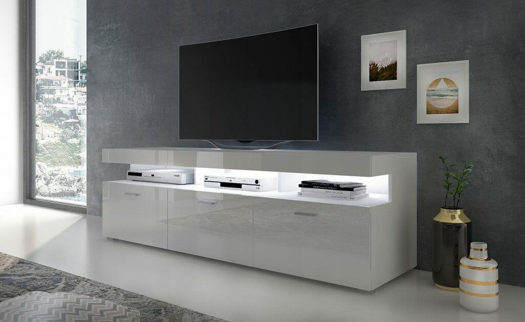Szafka RTV VANCOUVER W9.314 180 cm biały