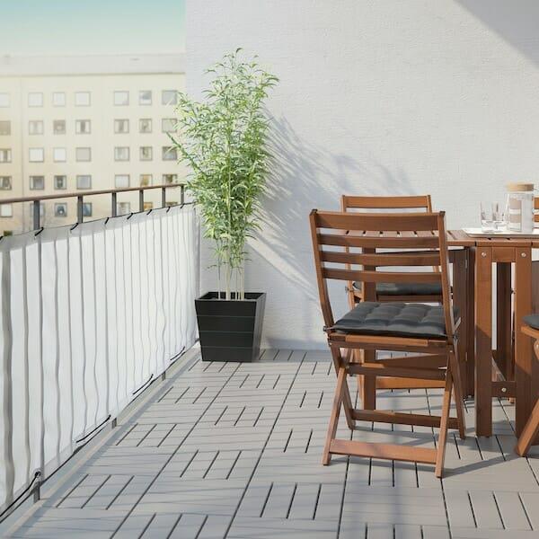 Osłona na balkon IKEA DYNING