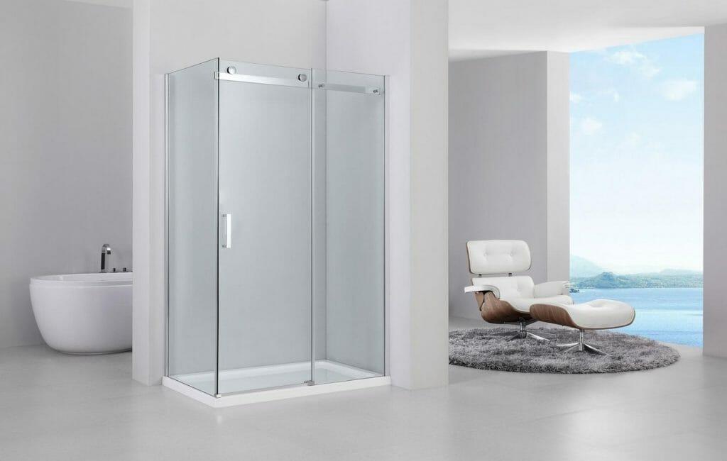 Kabina prysznicowa szklana REA Marten 80 x 100 cm