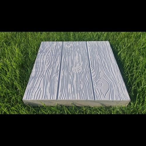 Płyta betonowa o strukturze drewna