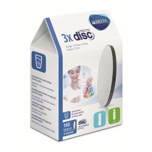 Wkład filtrujący MicroDisc do butelki Brita Fill&Go