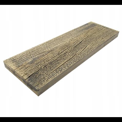 Deska betonowa na taras - stare drewno