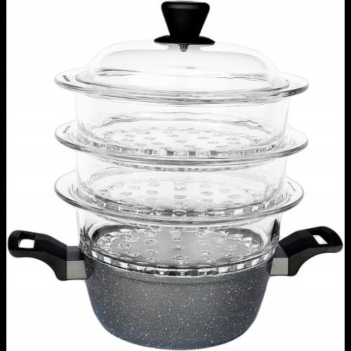 Garnek do gotowania na parze SILVERSTONE AMBITION