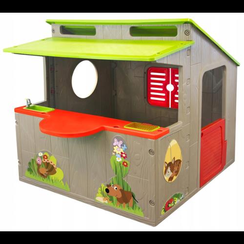 Domek ogrodowy dla dzieci Mochtoys Country Playhouse
