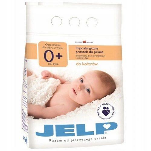 Proszek do prania JELP 0+ - hipoalergiczny proszek do koloru od 1. miesiąca życia