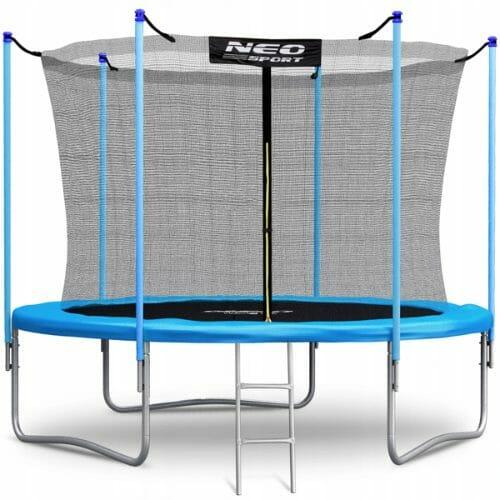 Trampolina do ogrodu z wewnętrzną siatką i atestami NeoSport 312 cm