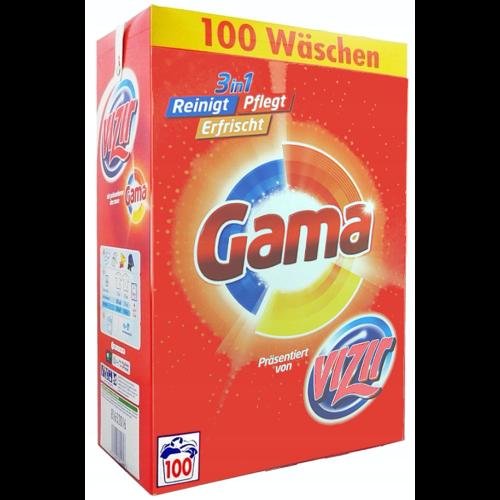 Proszek do prania Vizir (Gama) Universal - uniwersalny proszek do białych i kolorowych tkanin