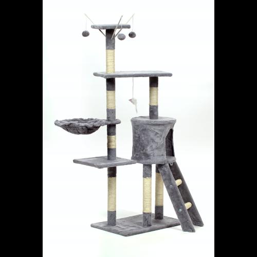 Drapak dla kota z platformą do obserwacji