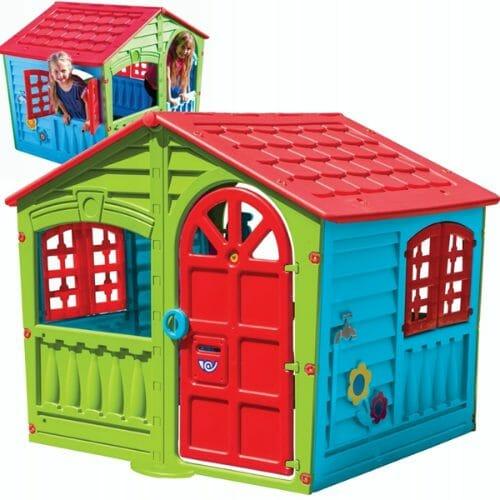 Kolorowy domek ogrodowy dla dzieci PalPlay The House Of Fun