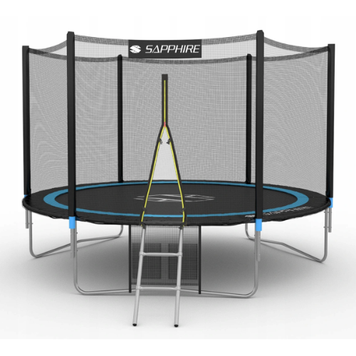 Tania trampolina ogrodowa dla dzieci Sapphire Ringo 312 cm