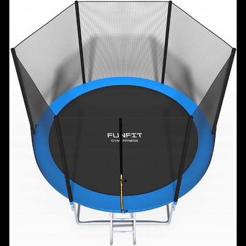 Trampolina ogrodowa z siatką zewnętrzną Funfit - 312CM