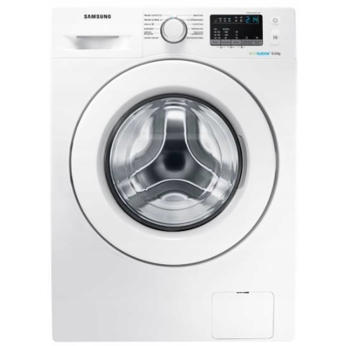 Pralka do 2000 zł - Samsung WW60J4060LW1 Eco Bubble 6kg A+++
