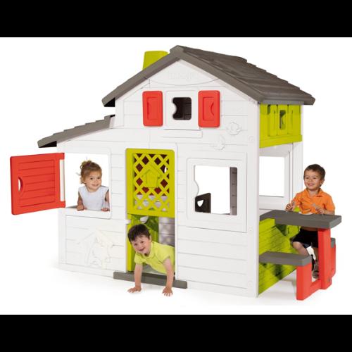 Duży domek ogrodowy dla dzieci Smoby Friends House