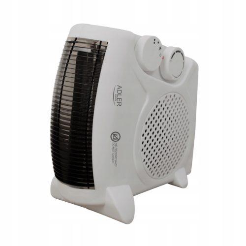 Adler - elektryczny termowentylator z termostatem