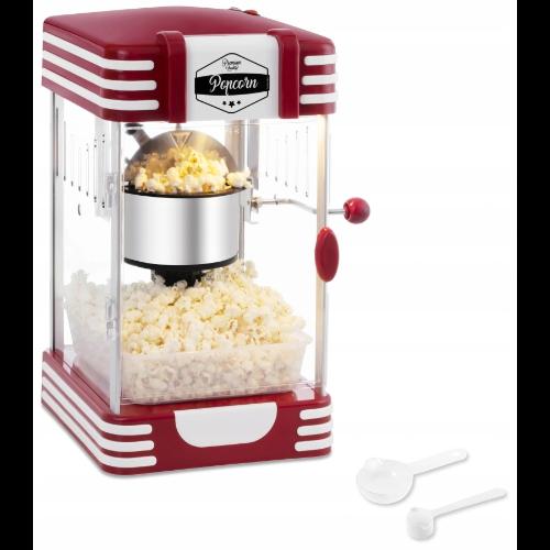 Maszynka do popcornu w stylu retro
