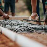 Wylewanie fundamentów, realizacja stanu zero budowy