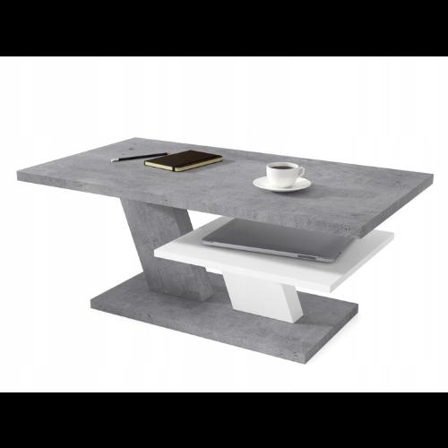 Awangardowy stolik kawowy do salonu z betonu