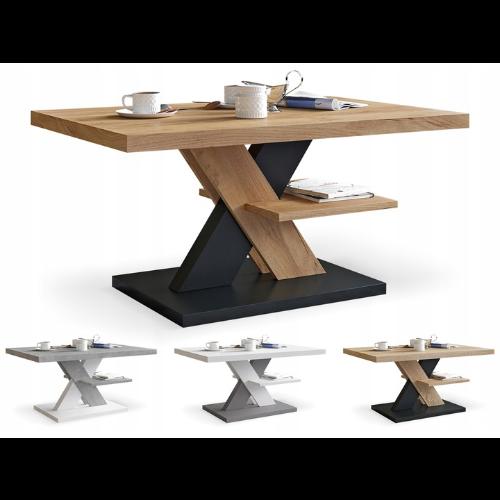 stolik kawowy nowoczesny z półką