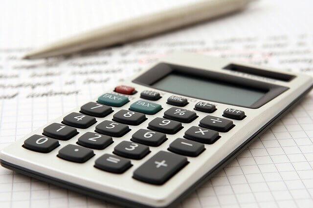 Kalkulator, obliczanie oprocentowania
