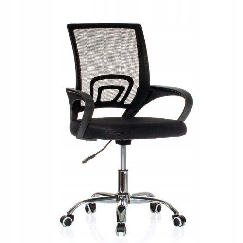 Fotel obrotowy do biura z przewiewną siatką