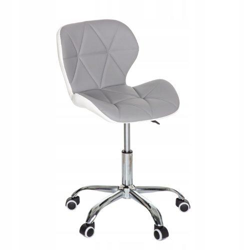 Krzesło biurowe dla dzieci z ekoskóry