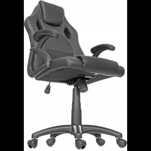 Biurowy fotel z zagłówkiem do domu i biura