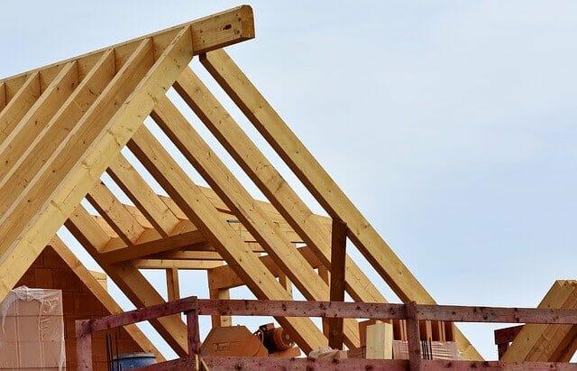 Więźba dachowa - etap stanu surowego otwartego