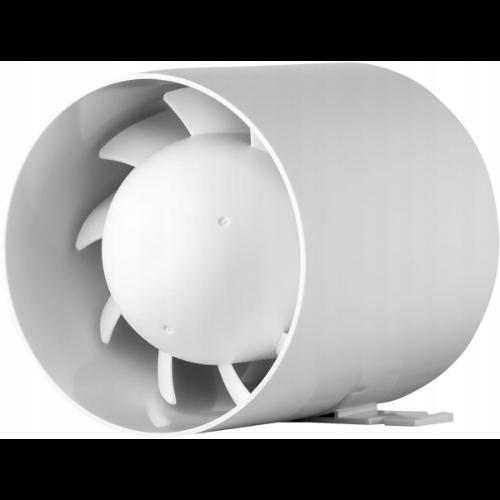 Wentylator łazienkowy kanałowy o dużej wydajności
