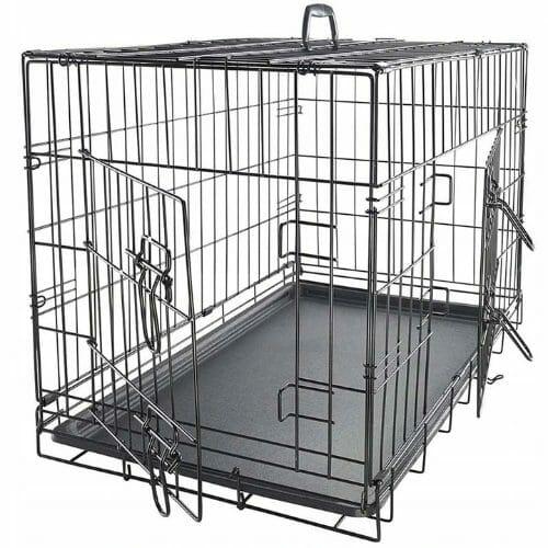 Metalowa klatka kennelowa dla psów kojec
