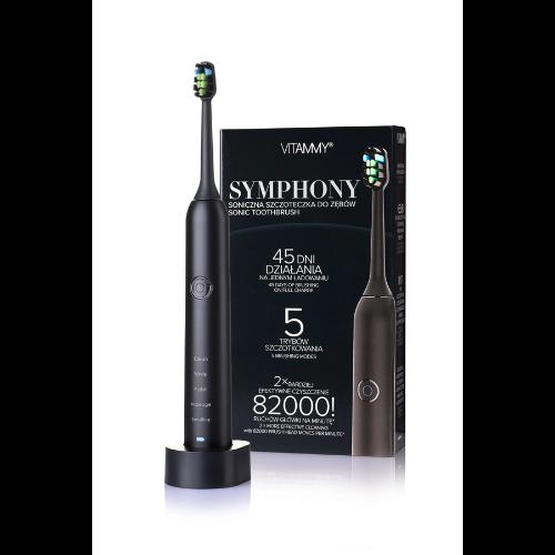 Vitammy Symphony Black - szczoteczka soniczna dla wymagających