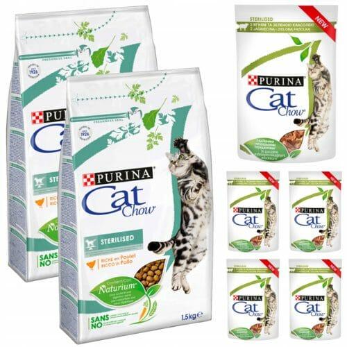 Purina Cat Chow - karma sucha dla kotów wysterylizowanych