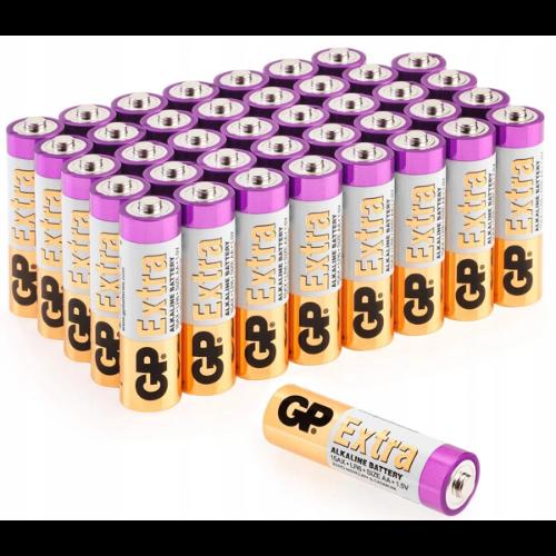Baterie alkaliczne GP Extra R6 AA paluszki