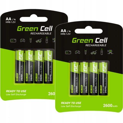 Akumulatorki/baterie AA R6 Green Cell