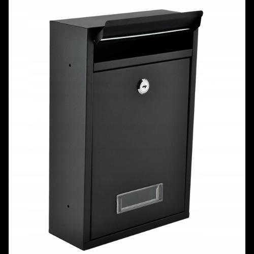 """Plieninė pašto dėžutė """"Malatec 6237"""" su skydeliu"""