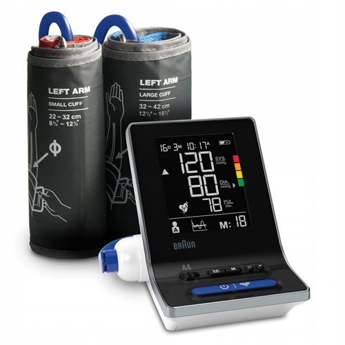 Braun ExactFit 3 - nowoczesny aparat do mierzenia ciśnienia