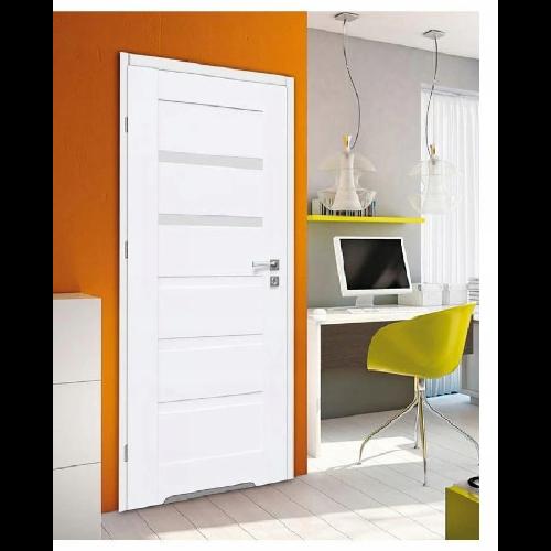 Białe drzwi do łazienki Perfectdoor Fresno 6